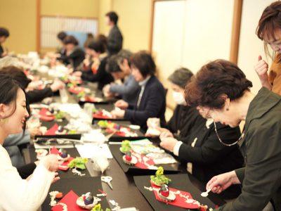 【開催レポート】2/20  ひなまつりの室礼講座&車屋の行事食(前編)
