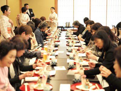 【開催レポート】2/20  ひなまつりの室礼講座&車屋の行事食(後編)
